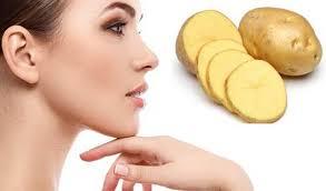 Patates ile cilt bakımı, patates ile güzelleşme